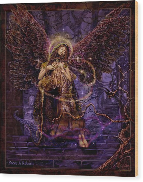 Our Lady Of Redemption Wood Print