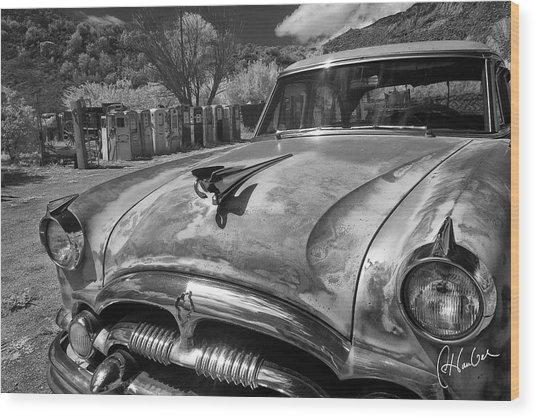 Packard Wood Print by Christine Hauber