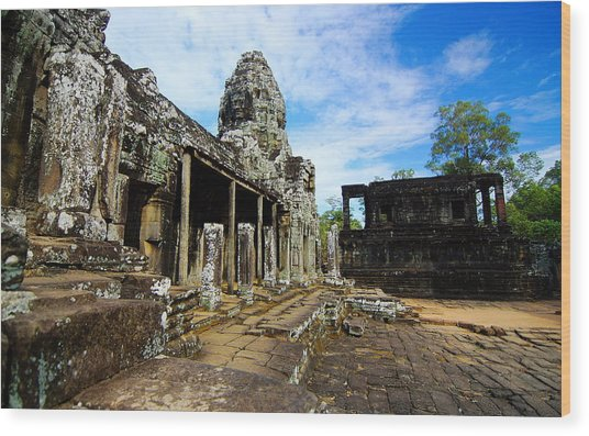 Pagoda Temple Wood Print