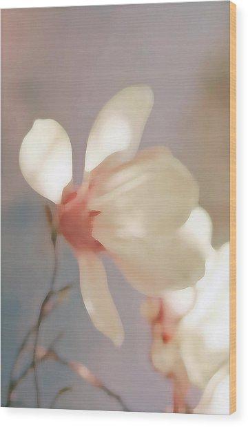 Painted Flower Wood Print