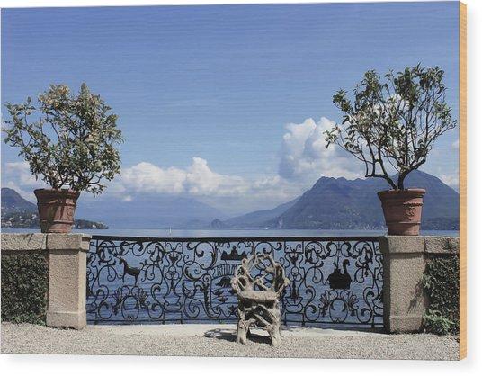 Palazzo Borromeo - Isola Bella Wood Print