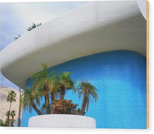 Palm Springs Modernism Wood Print