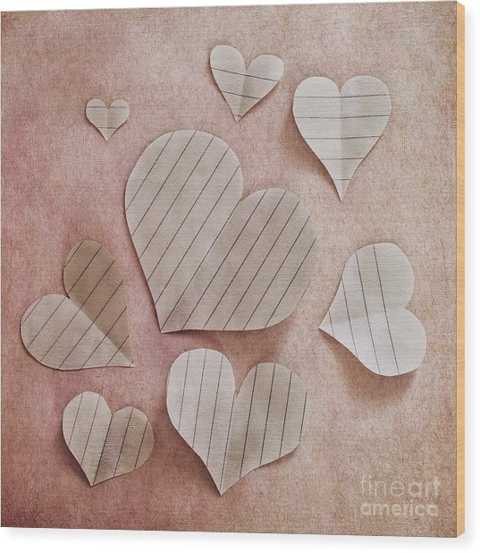 Papier D'amour Wood Print