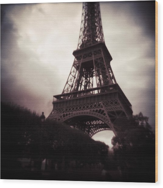 Paris Dream Wood Print