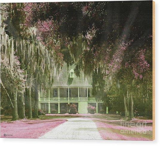 Parlange Plantation Circa 1750 New Roads La Wood Print