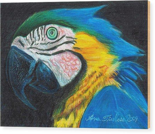 Parrot Miniature Wood Print