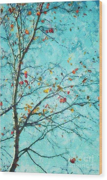 Parsi-parla - D01d03 Wood Print