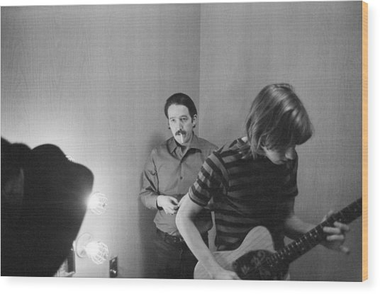 Paul Butterfield And Buzzy Feiten Fillmore East 1968 Wood Print