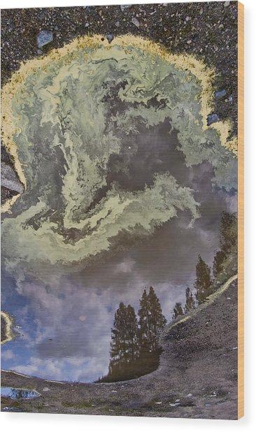Payette Rain Puddle Wood Print