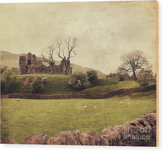 Pendragon Castle Wood Print