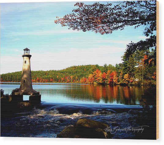 Perfect At Lake Potanipo Wood Print by Ruth Bodycott