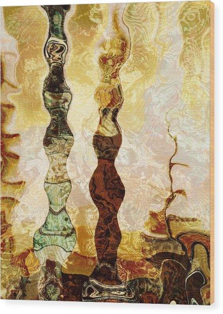 Persian Treasure Wood Print