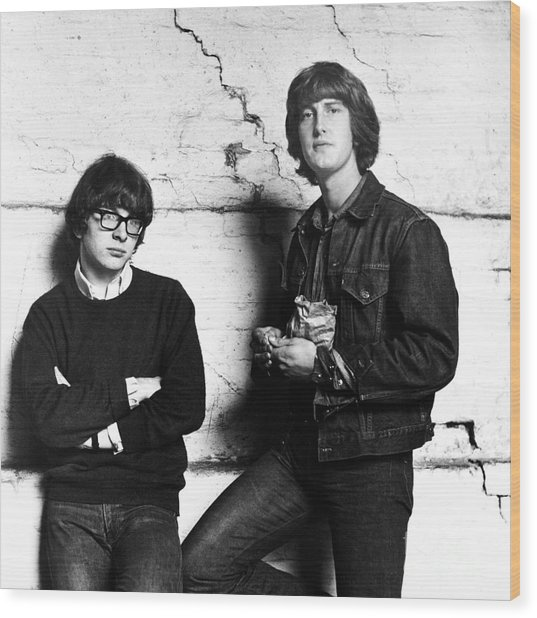 Peter And Gordon 1964 Wood Print