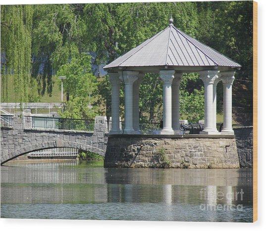Piedmont Park Wood Print