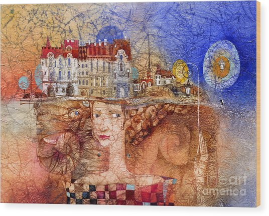Pilgrims Wood Print by Svetlana and Sabir Gadghievs