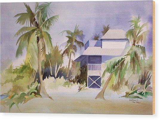 Pine Island Fl. Wood Print