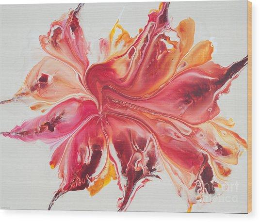 Pink Ardor Wood Print