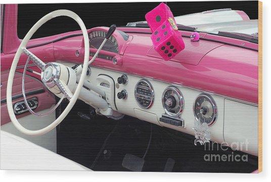 Pink Classic Wood Print