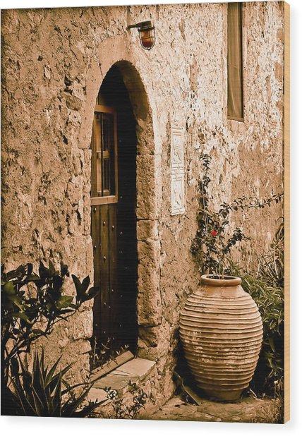 Monemvasia, Greece - Pithos Wood Print