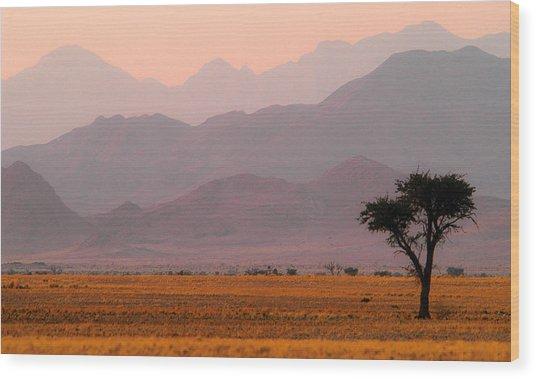 Plain Tree Wood Print