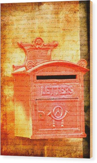 Please Mr Postman... Wood Print