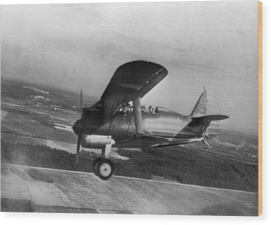 Polikarpov I-15, Soviet Fighter, 1935 Wood Print by Ria Novosti