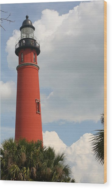 Ponce Inlet Lighthouse II Wood Print