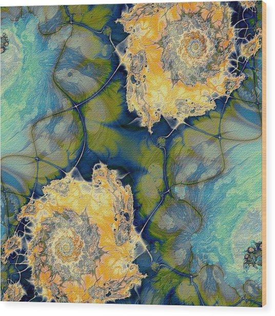 Pond Wood Print