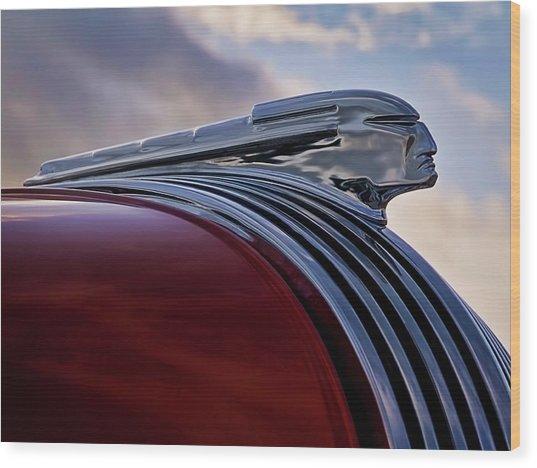 Pontiac Chief Wood Print
