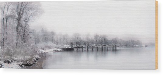 Port Tobacco River Wood Print