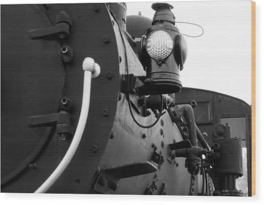 Porter Steam Engine Wood Print