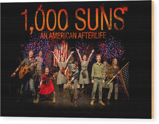 Poster For 1000 Suns - An American Afterlife Wood Print