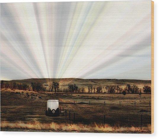 Prairie Wood Print