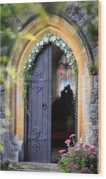 Pretty Portal  Wood Print