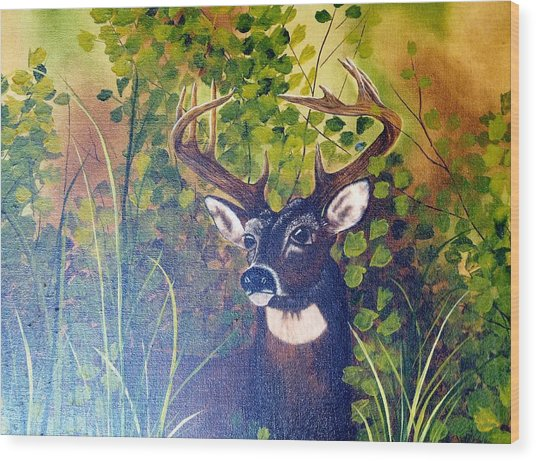 Pride Wood Print by Mary Matherne