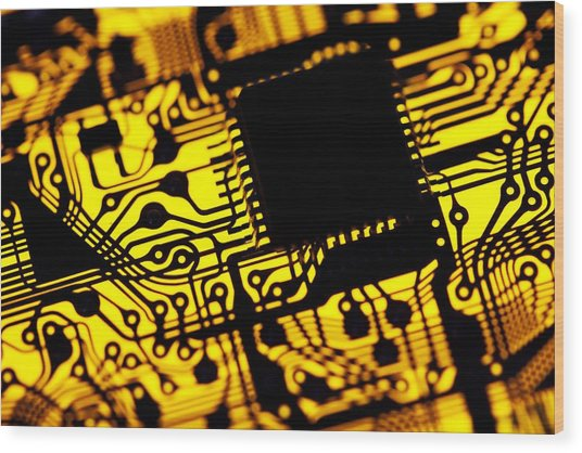 Printed Circuit Board, Artwork Photograph by Pasieka