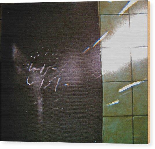 Prisma Foyer Refraction Wood Print by Cliff Spohn