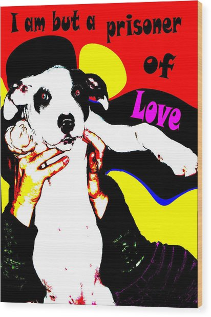 Prisoner Of Love Wood Print by Jann Paxton
