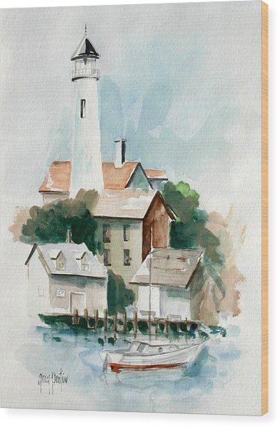 Provincetown Wood Print