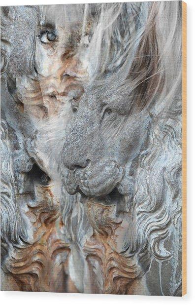 Psyche Wood Print