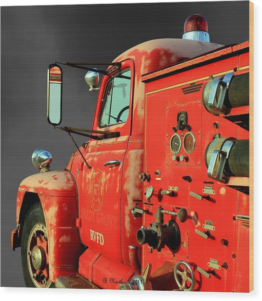 Pumper No. 2 - Retired Wood Print