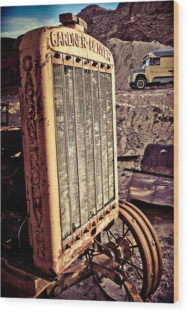 Radiate Wood Print by Merrick Imagery