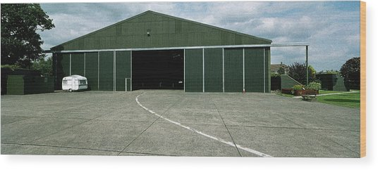 Raf Elvington Hangar Wood Print