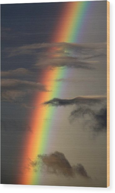 Rainbow Islands Wood Print