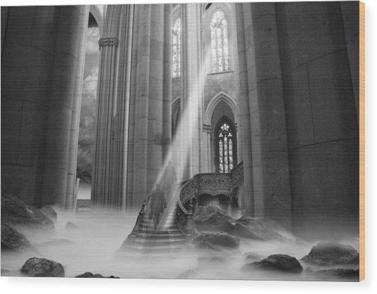 Rapture Wood Print
