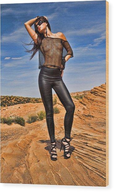 Red Rocks 3 - Melissa Wood Print