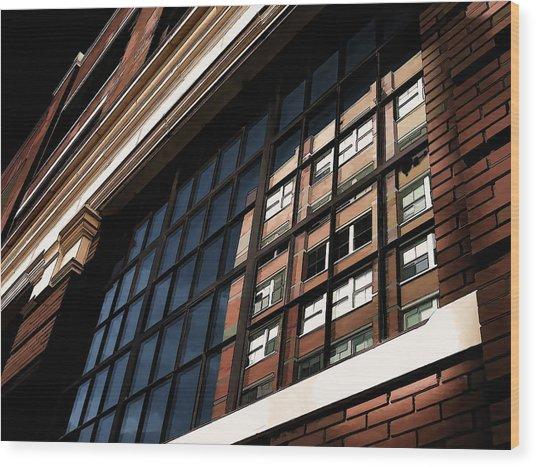 Reflection 1409 Wood Print