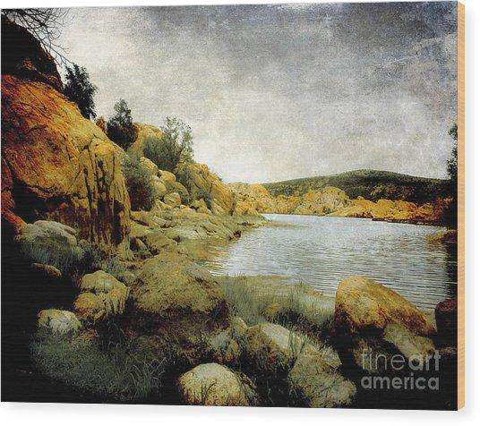 Rembrandt Colors Wood Print by Arne Hansen