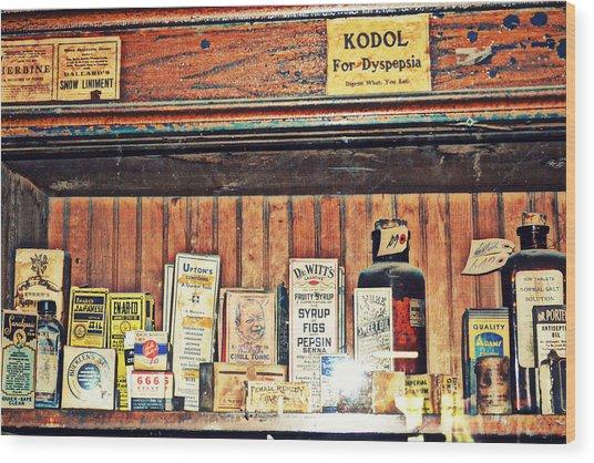 Remedies Wood Print