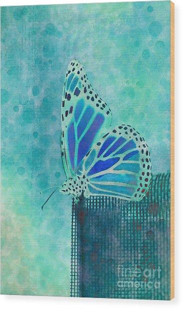 Reve De Papillon - S02a2 Wood Print